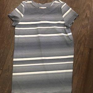 JUDE CONNALLY Striped Dress XL X Large new Ella